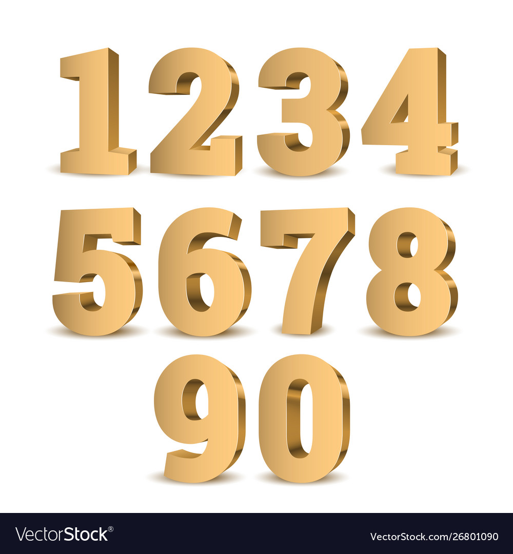 3d numbers