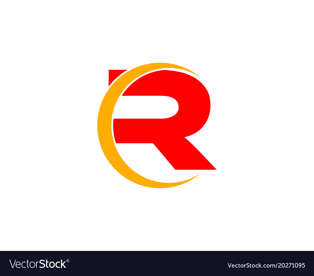 R letter logo royalty free vector image vectorstock r letter logo vector image thecheapjerseys Images