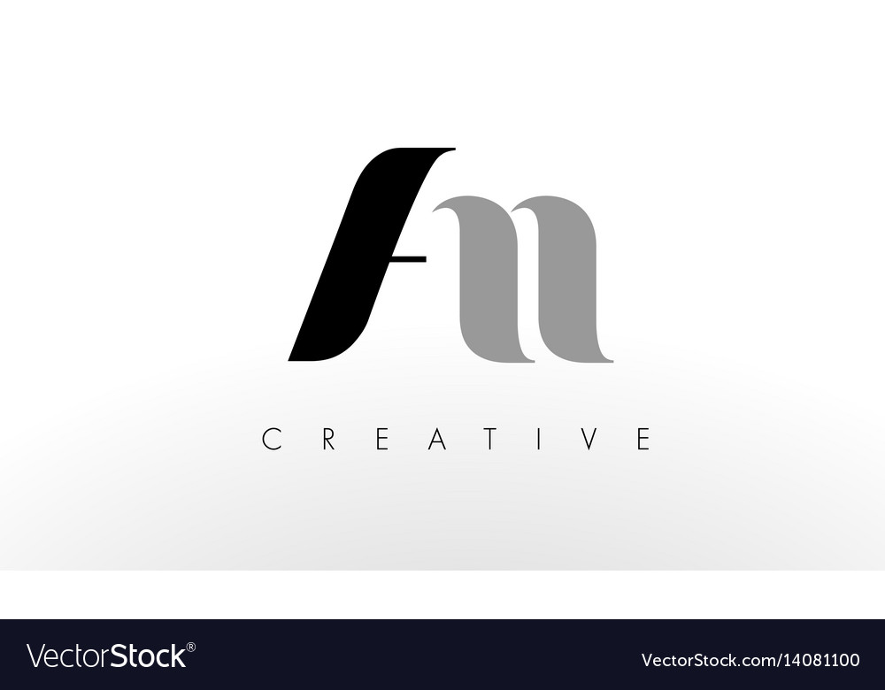 A n letter logo design creative an letters icon