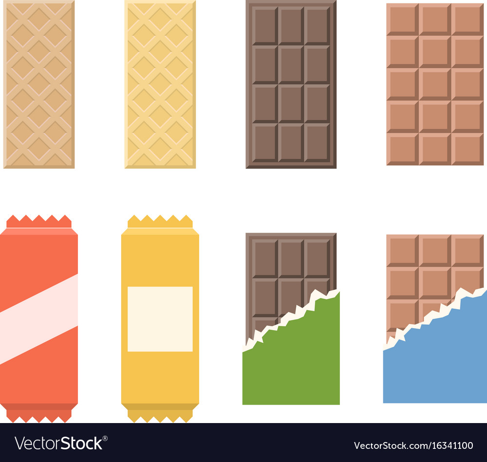 Chocolate and wafer icon