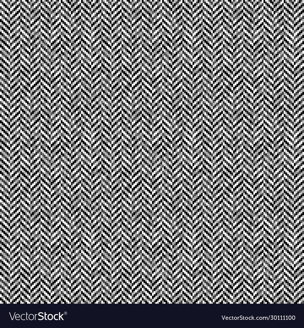 Gray herringbone tweed seamless pattern