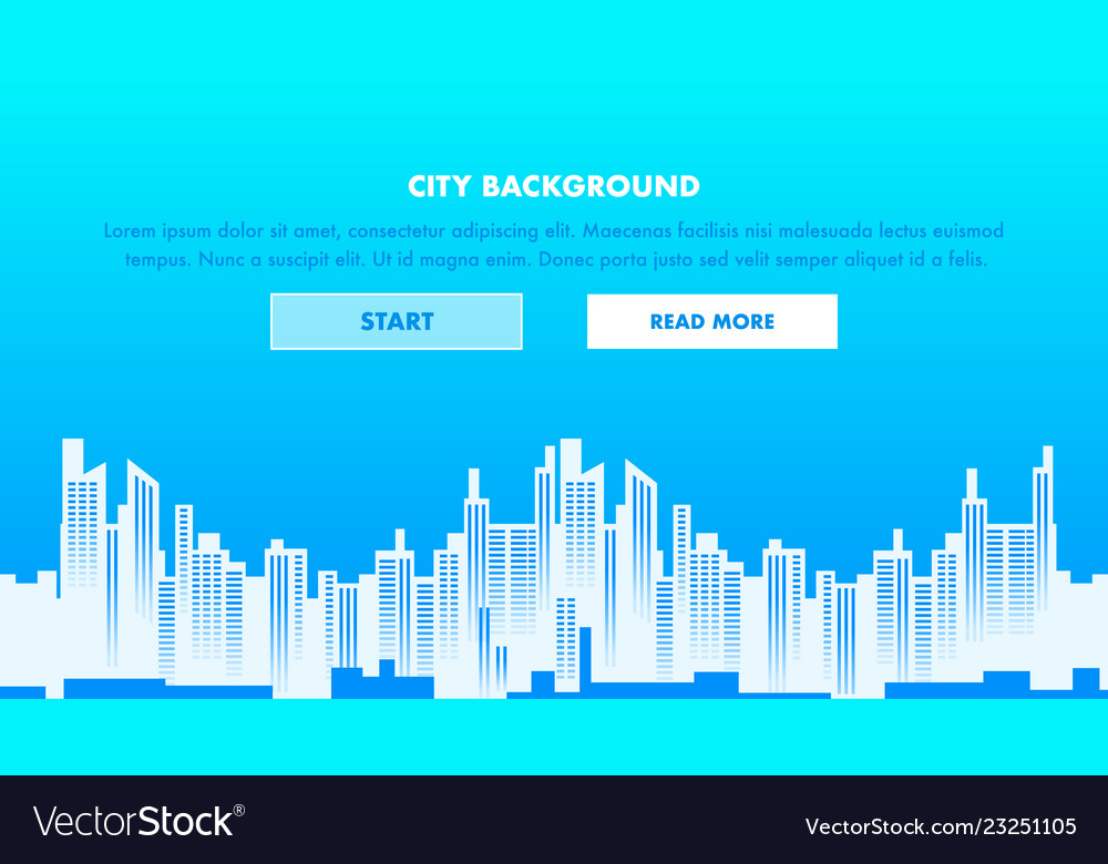 City background web page