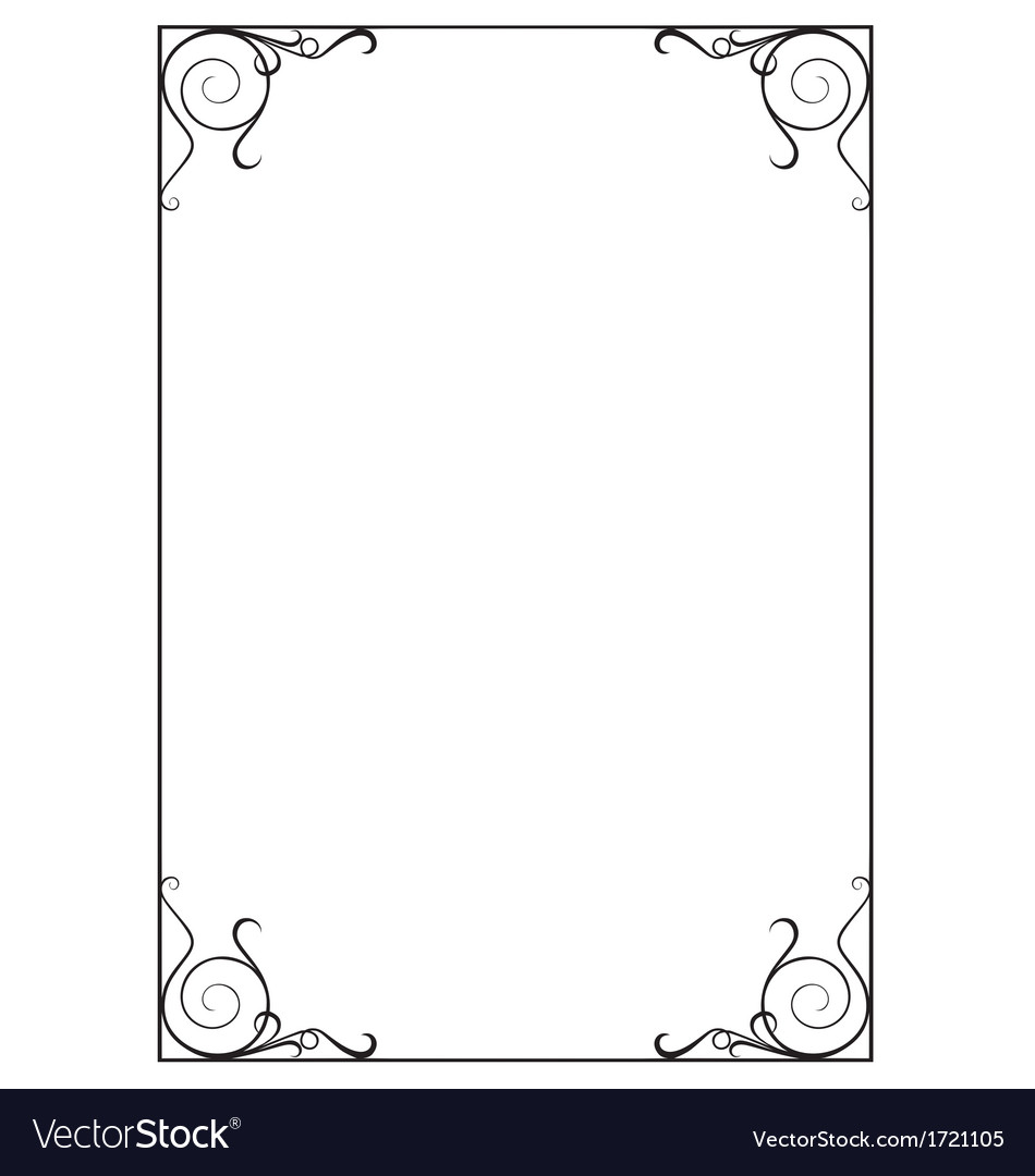 Decorative page border