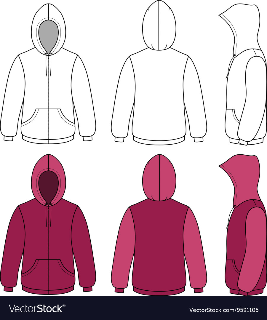 Old Fashioned Hoodie Vector Template Ensign - Resume Ideas ...