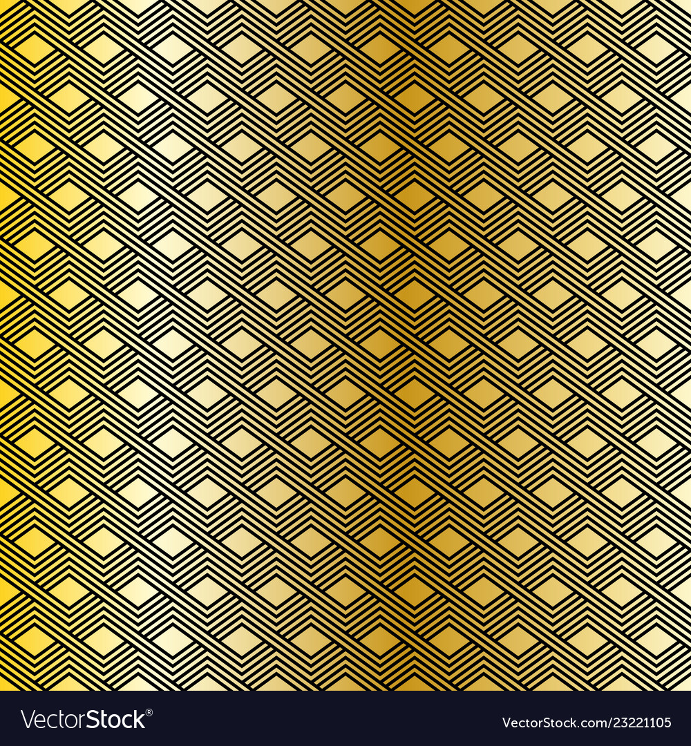 Seamless pattern modern stylish linear texture vector