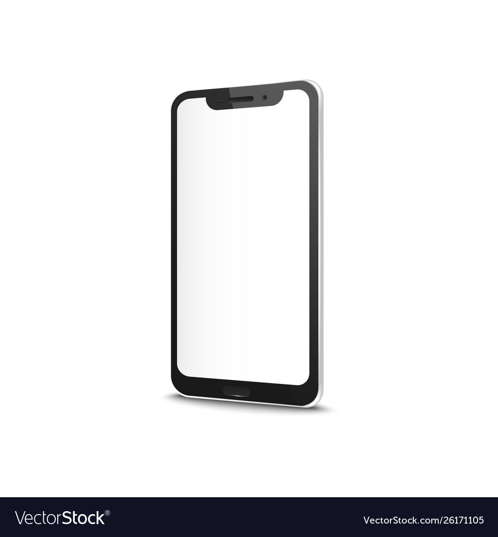 Smart or cell phone with blank screen