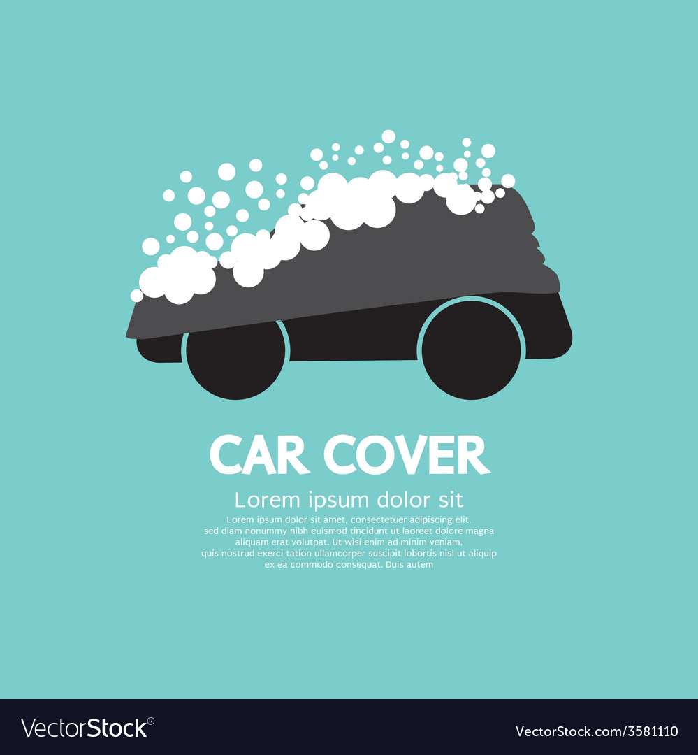 Car Cover With Snow Graphic
