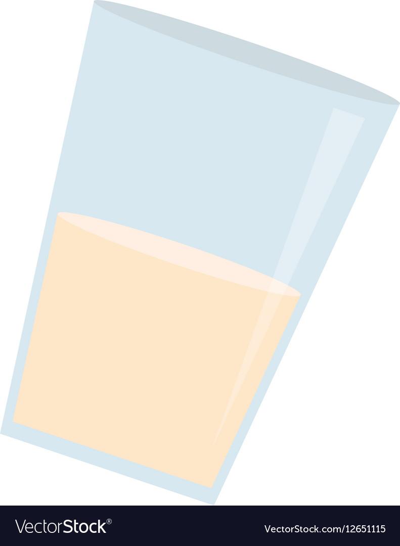 Glass of milk icon image