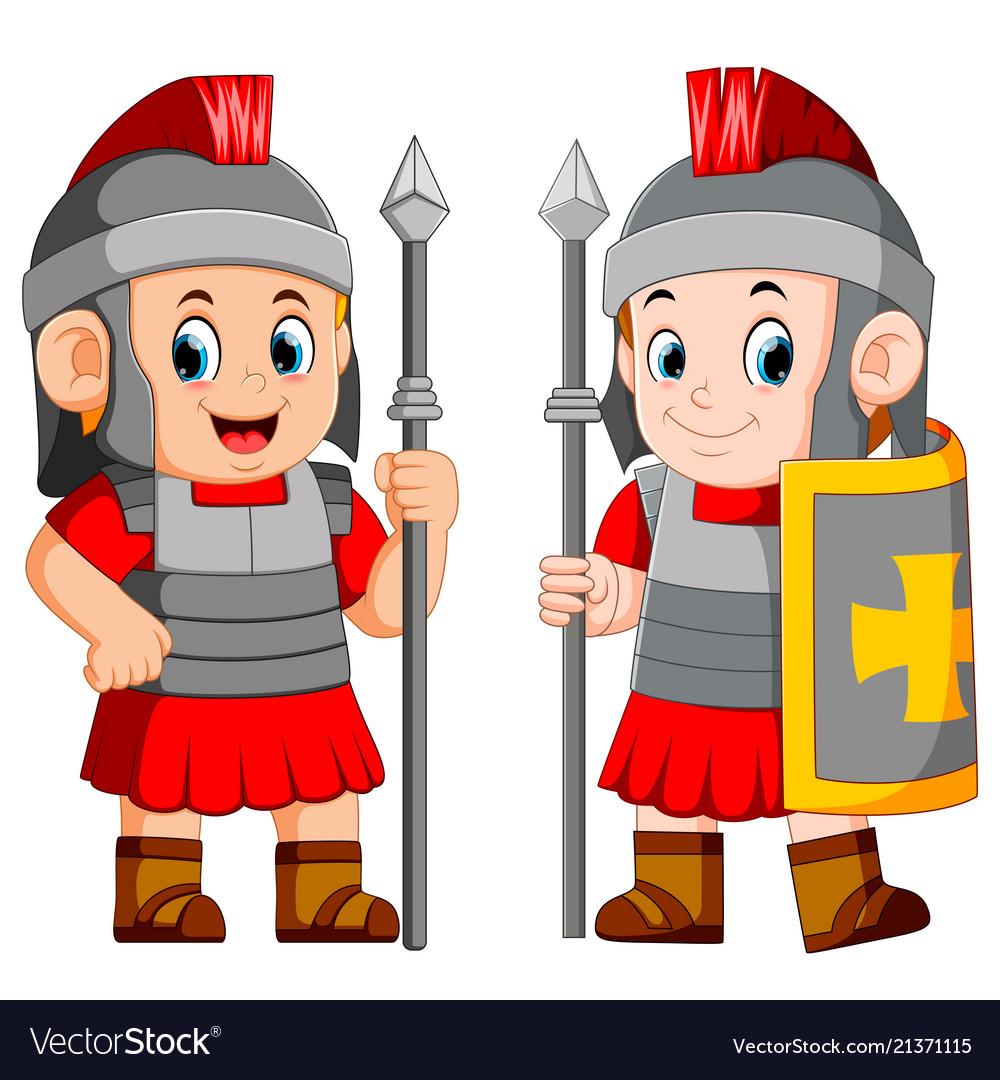 Legionary soldier of the roman empire