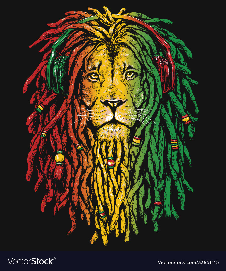 Rasta Lion Vector Images 36 See more ideas about rasta lion, sleeve tattoos, lion tattoo. vectorstock