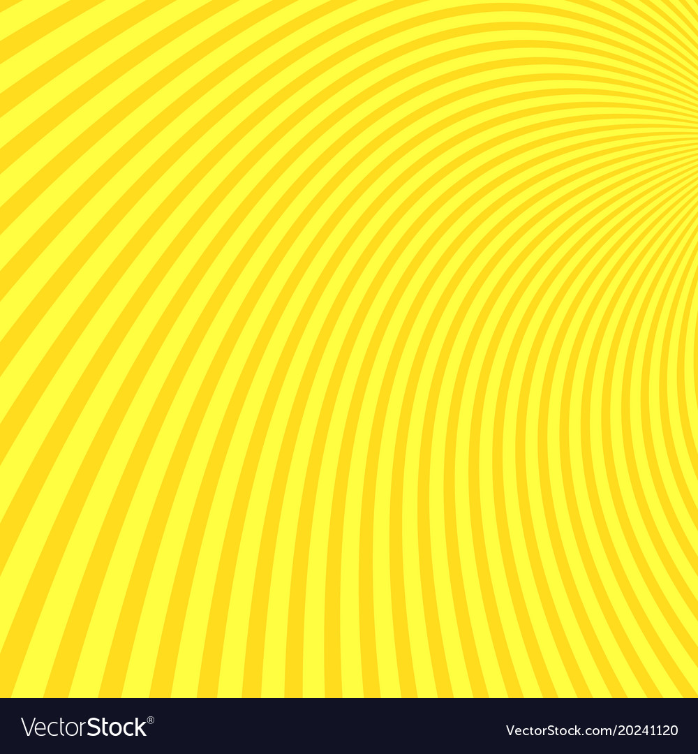 Hypnotic curved pattern background vector image