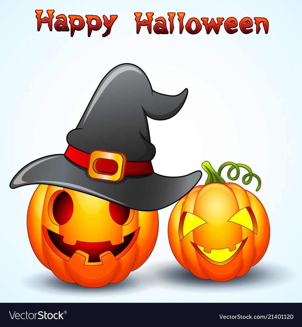 Halloween Pumpkin Cartoon Images.Set Of Halloween Pumpkins Cartoon