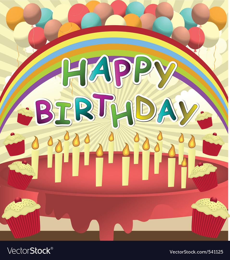 Birthday card template vector 541125 by shockymocky | R