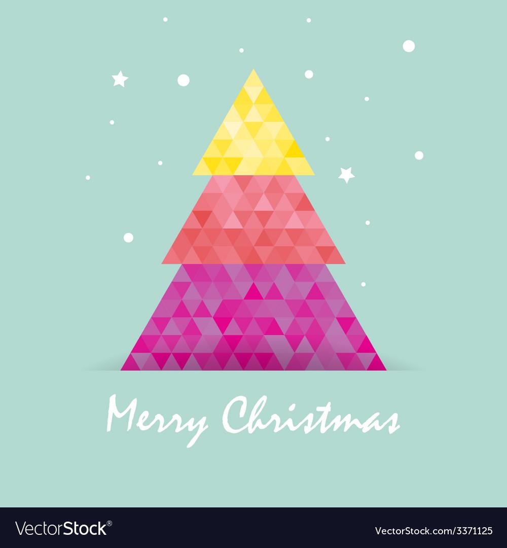 Christmas postcard template