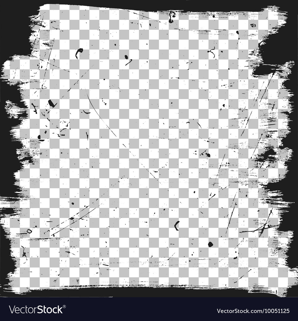grunge border template royalty free vector image