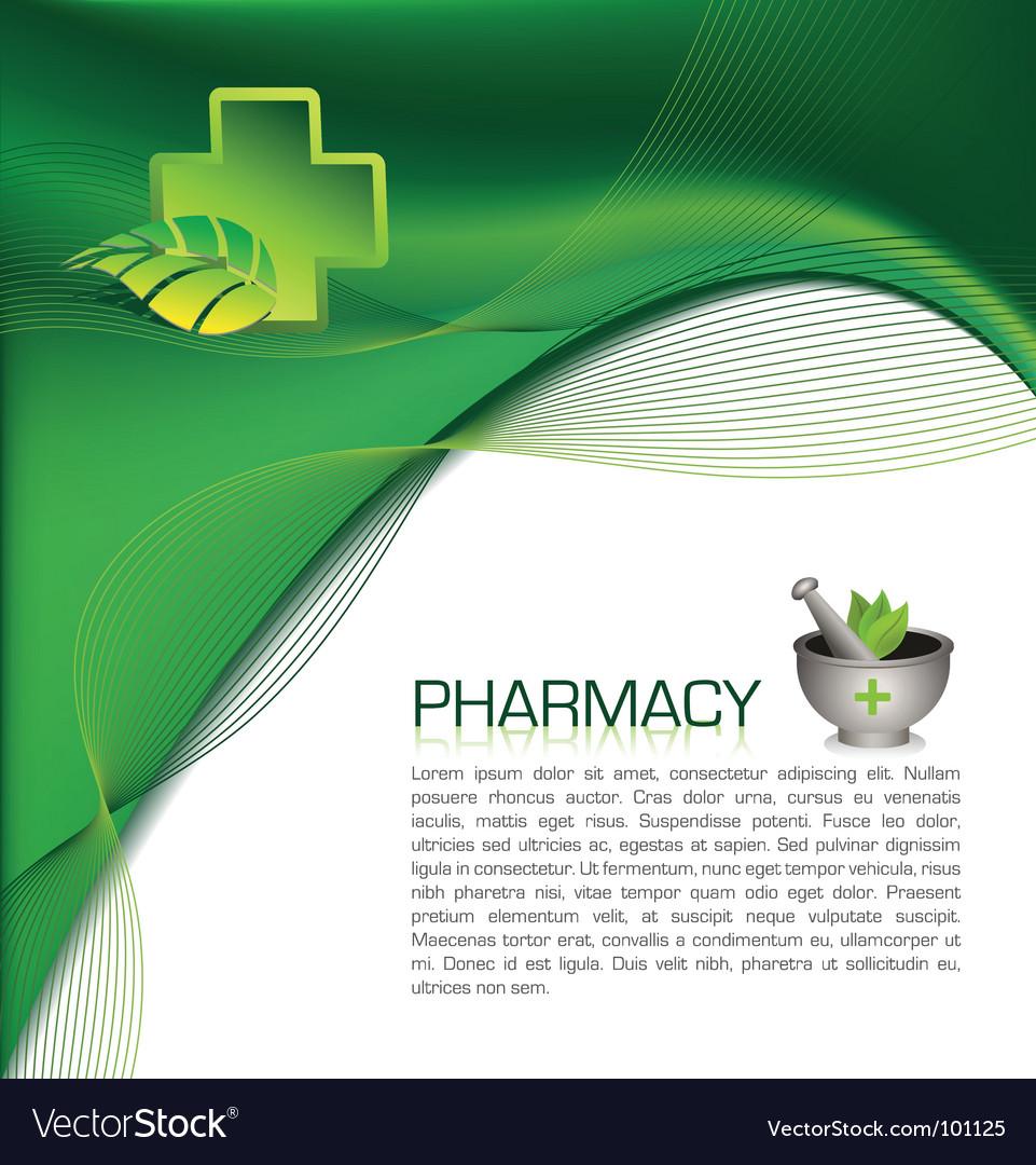 Pharmacy brochure Royalty Free Vector Image - VectorStock In Pharmacy Brochure Template Free