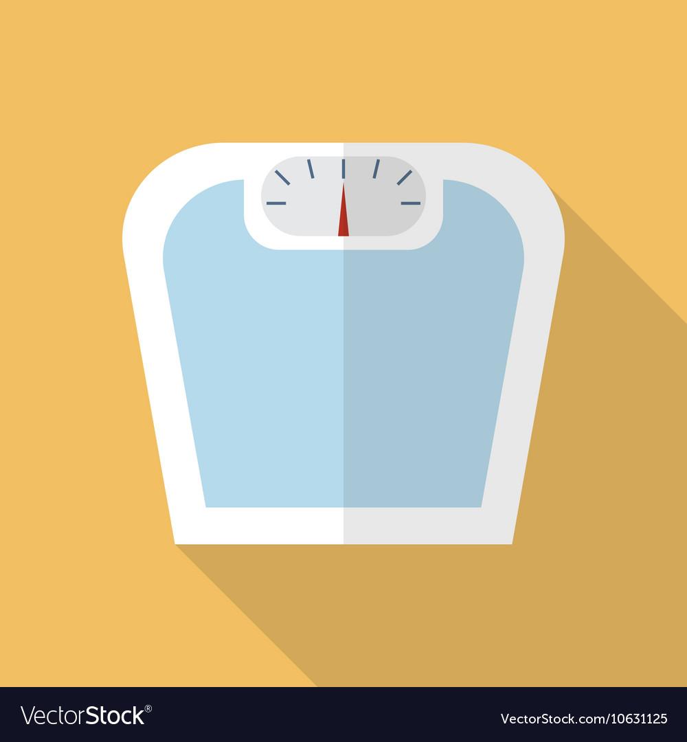 Weighting apparatus flat icon