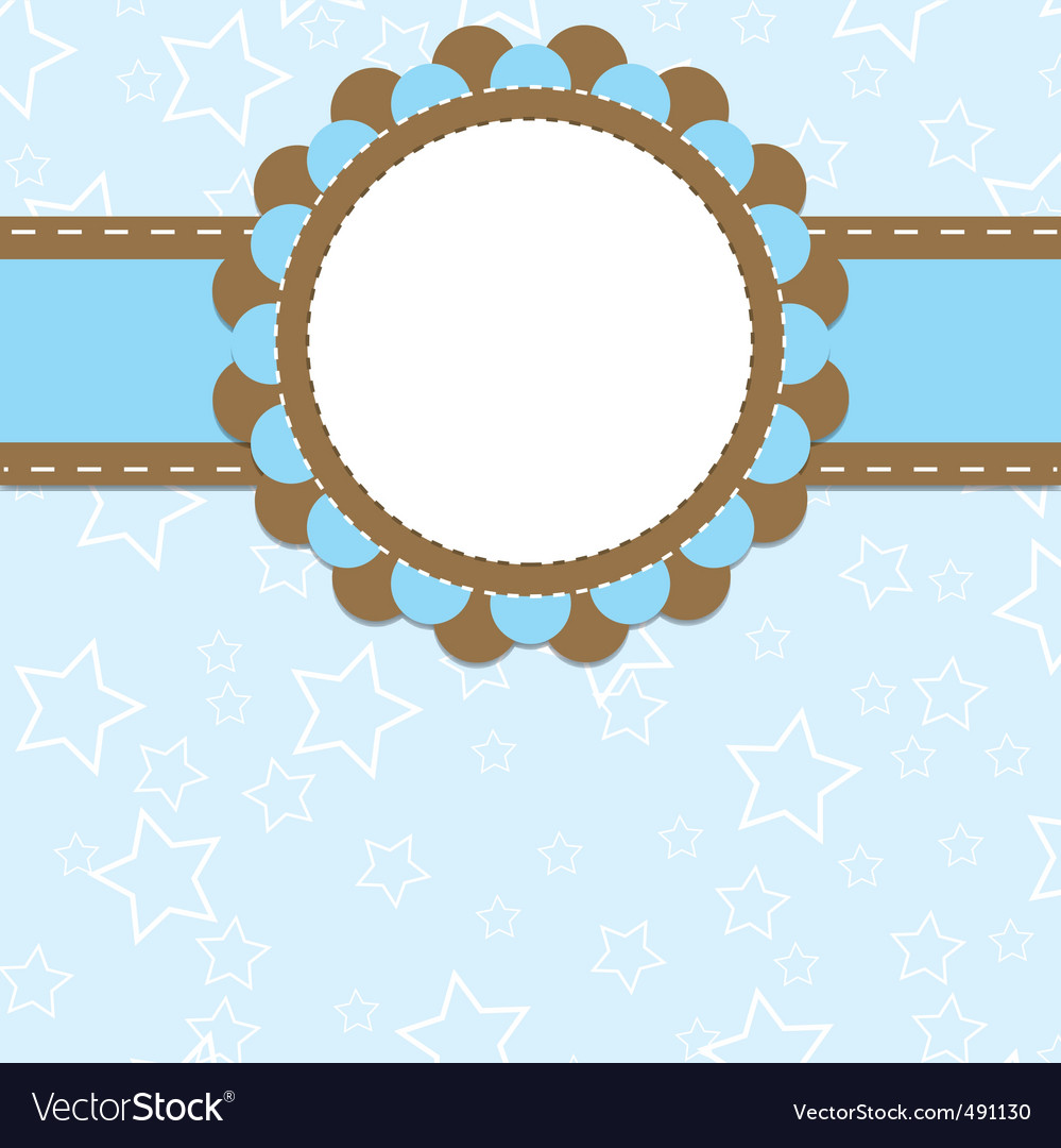 Card template vector