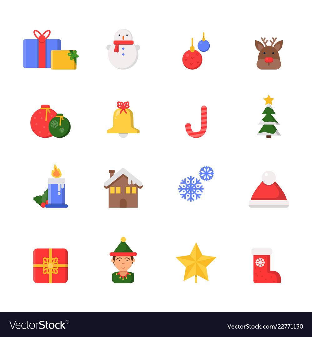 Christmas Clip Art North Star.Christmas Decoration Symbols Winter North Star