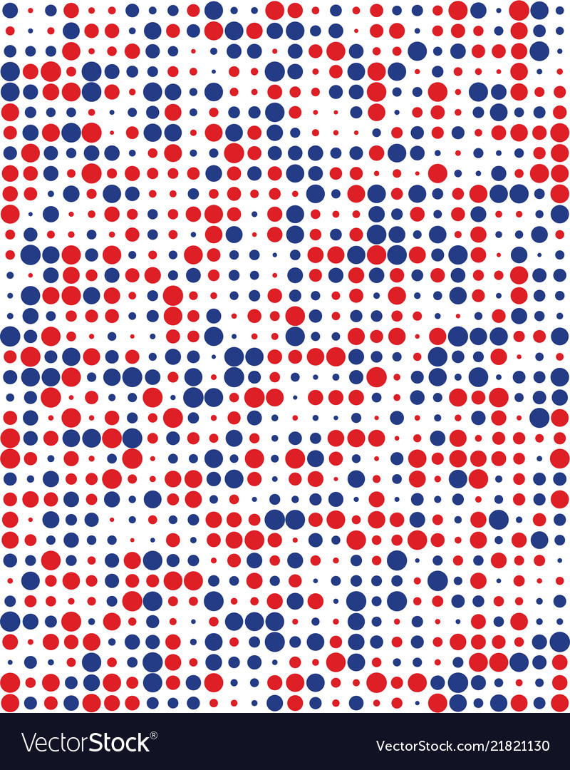 Pattern with colorful dots