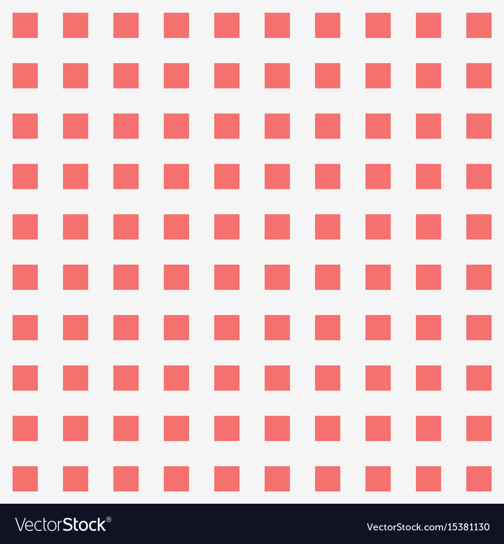 Red Square Dot Pattern Background Royalty Free Vector Image