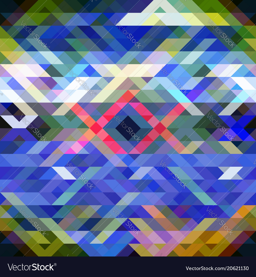 Seamless mosaic pattern bright abstract
