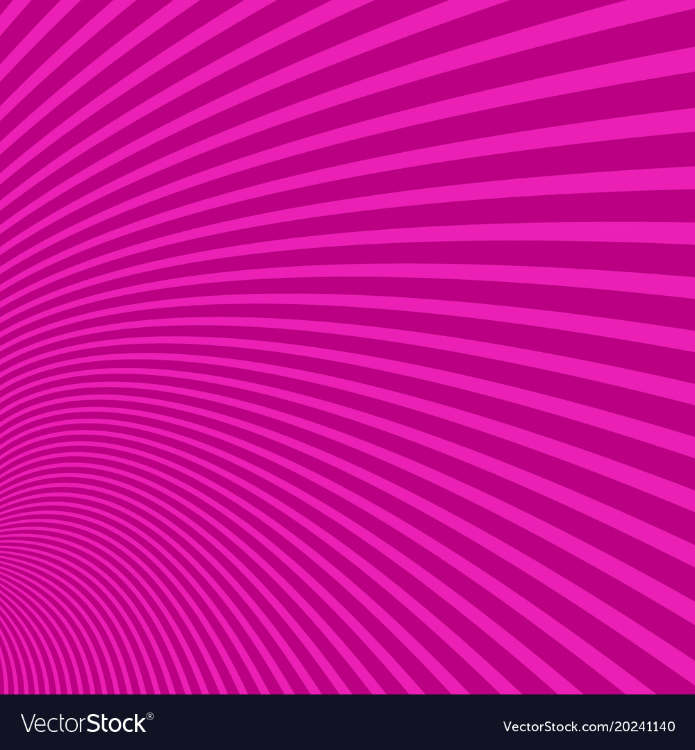 Geometrical curved stripe background - graphic vector image