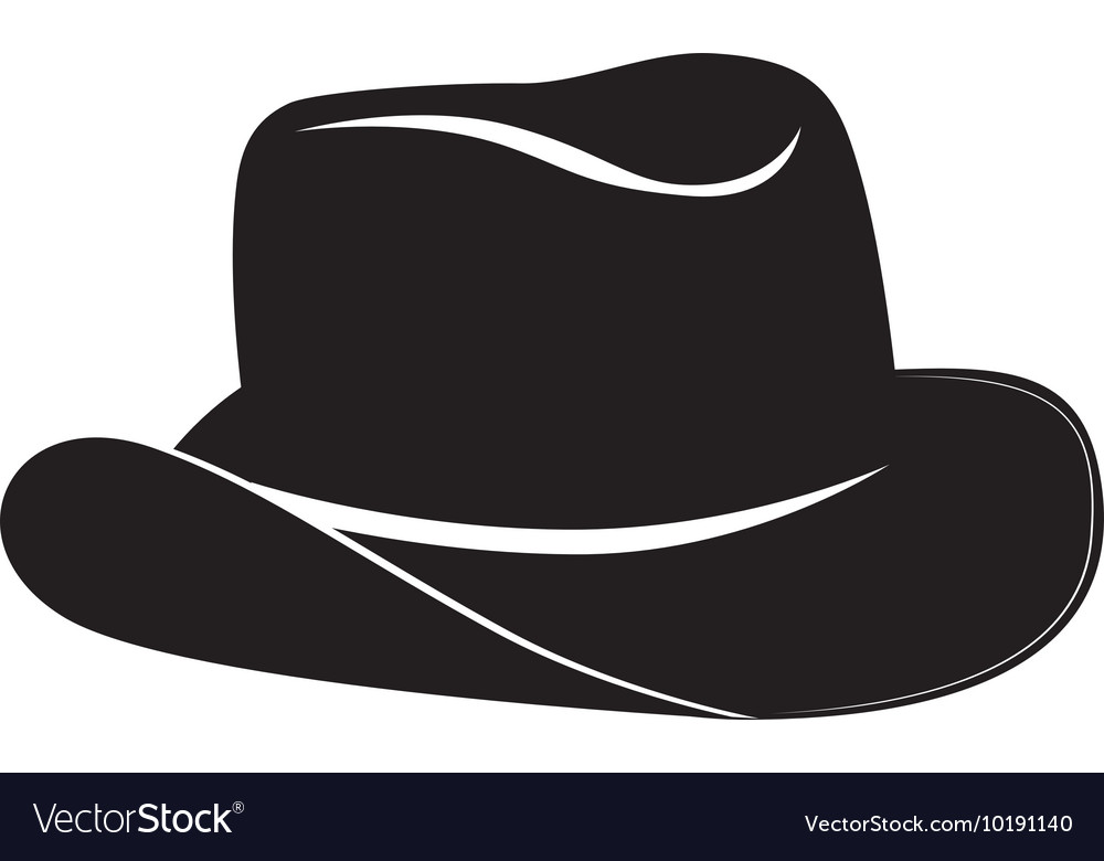 Hat cowboy west icon graphic