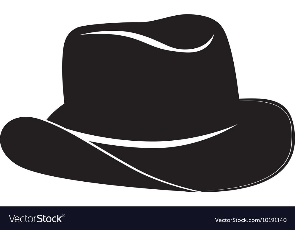 Hat cowboy west icon graphic
