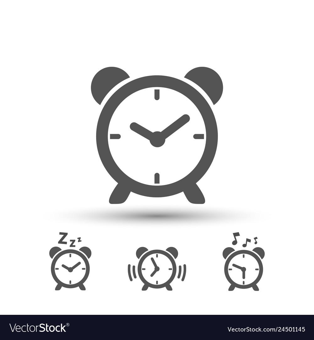 Clock icons set images