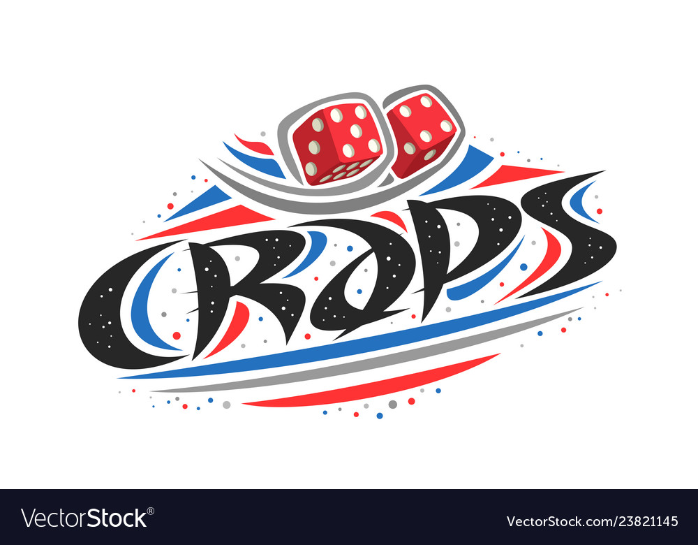 Logo for craps game