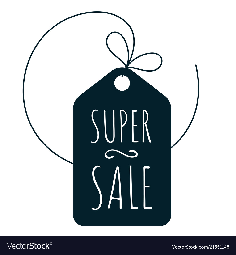 Shoppind super sale icon