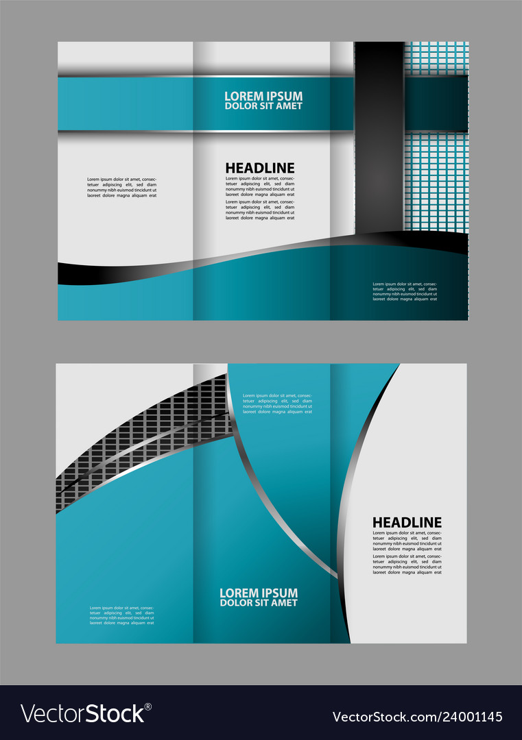 Tri Fold Business Brochure Template Two