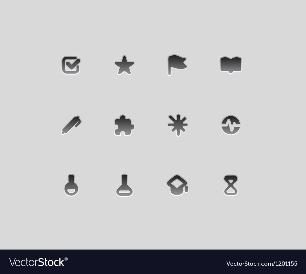 Icons for education and science