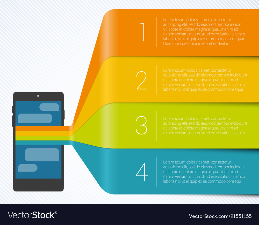 Step step infographics
