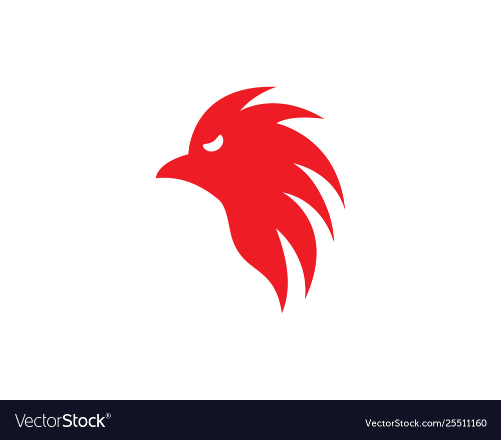 Rooster icon design