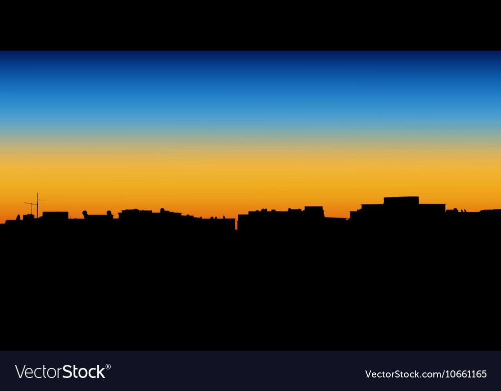 Night City of apartment