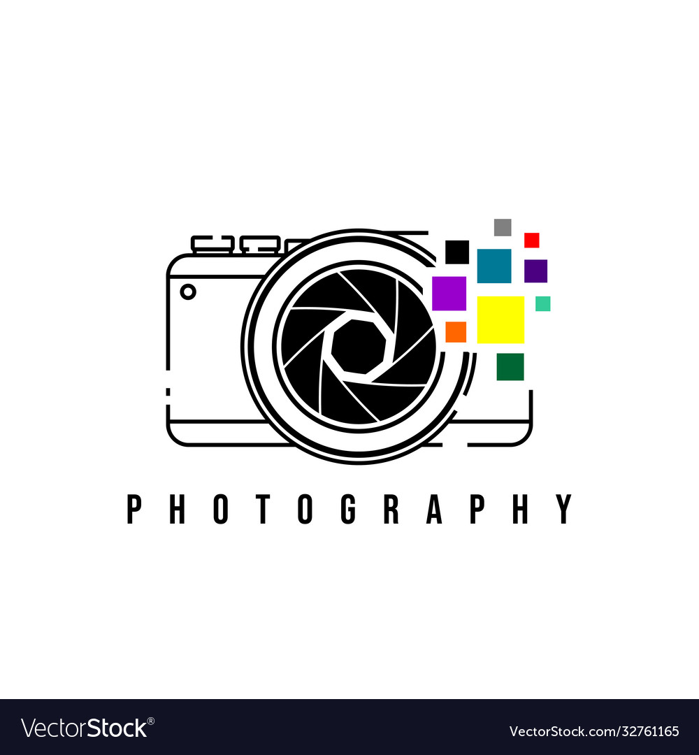 Photography design with camera