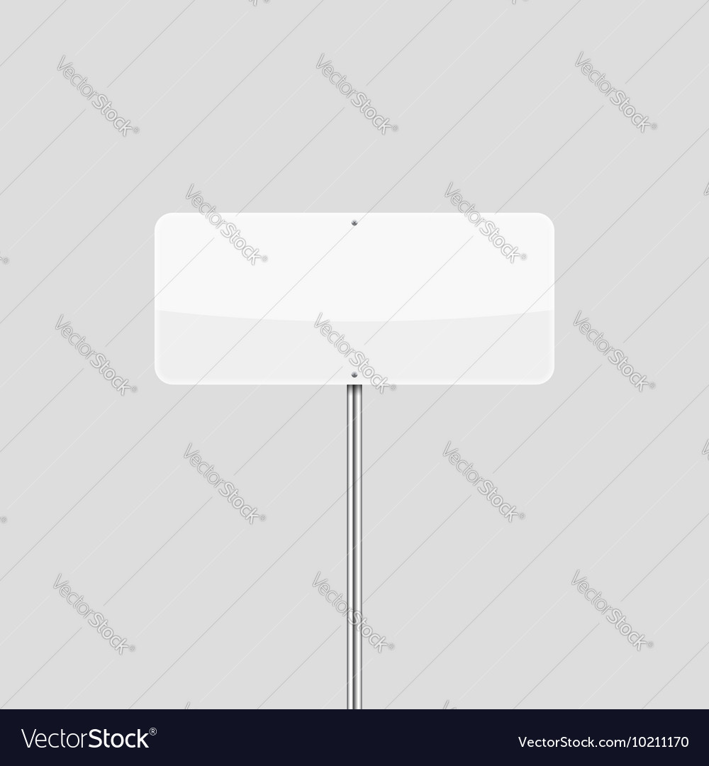Rectangular Traffic Sign