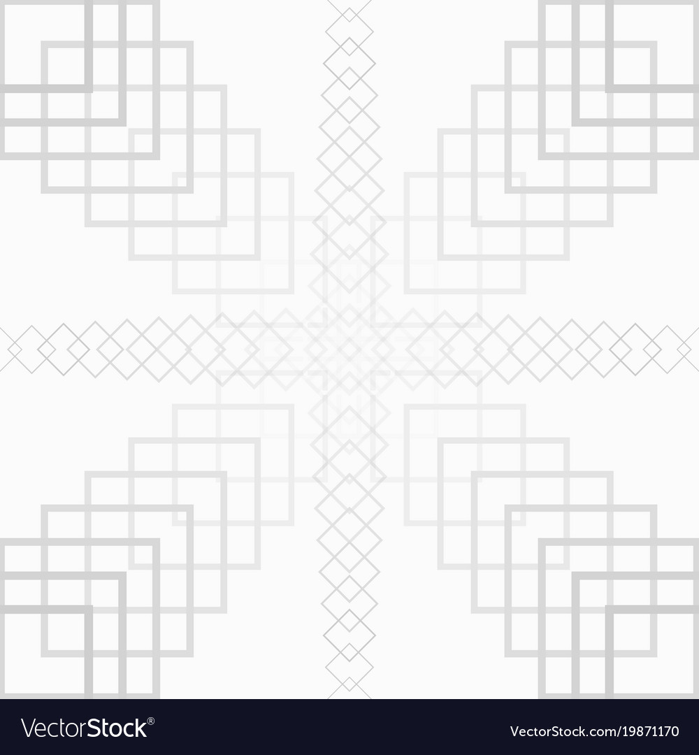 White square abstract background seamless pattern