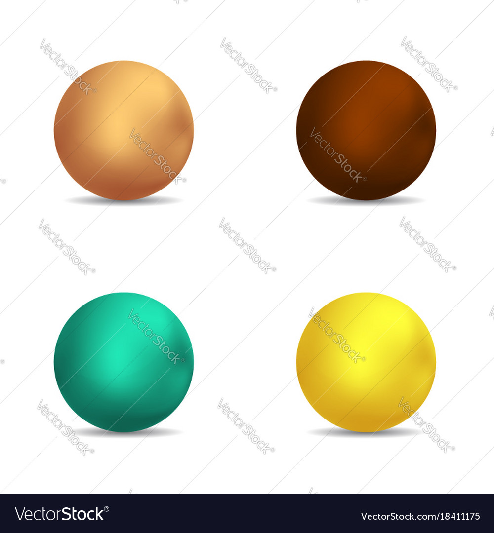 Lollipop caramel choclate bubbles set vector image