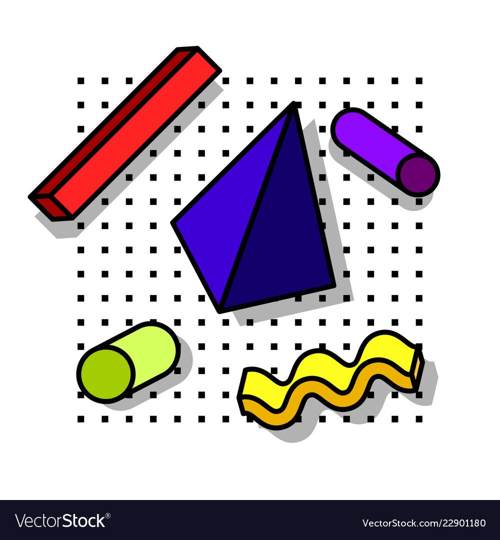 Decorative elements 80s