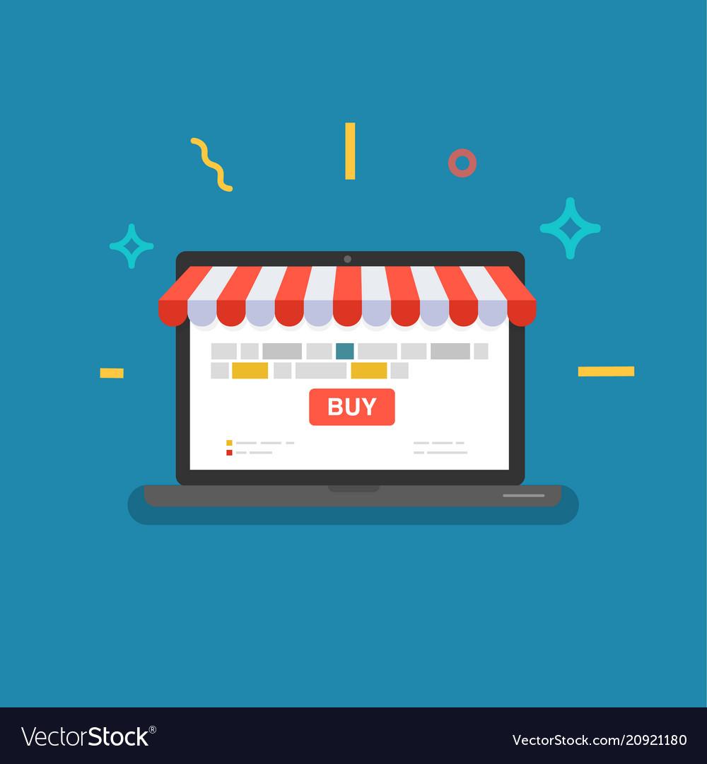 Online shop web store