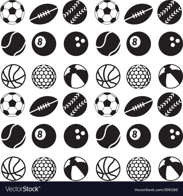 Seamless ball pattern