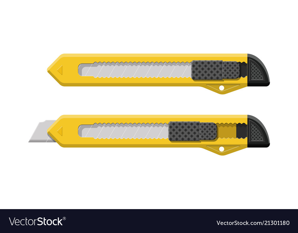 Snap-off blade stationery office supply knife