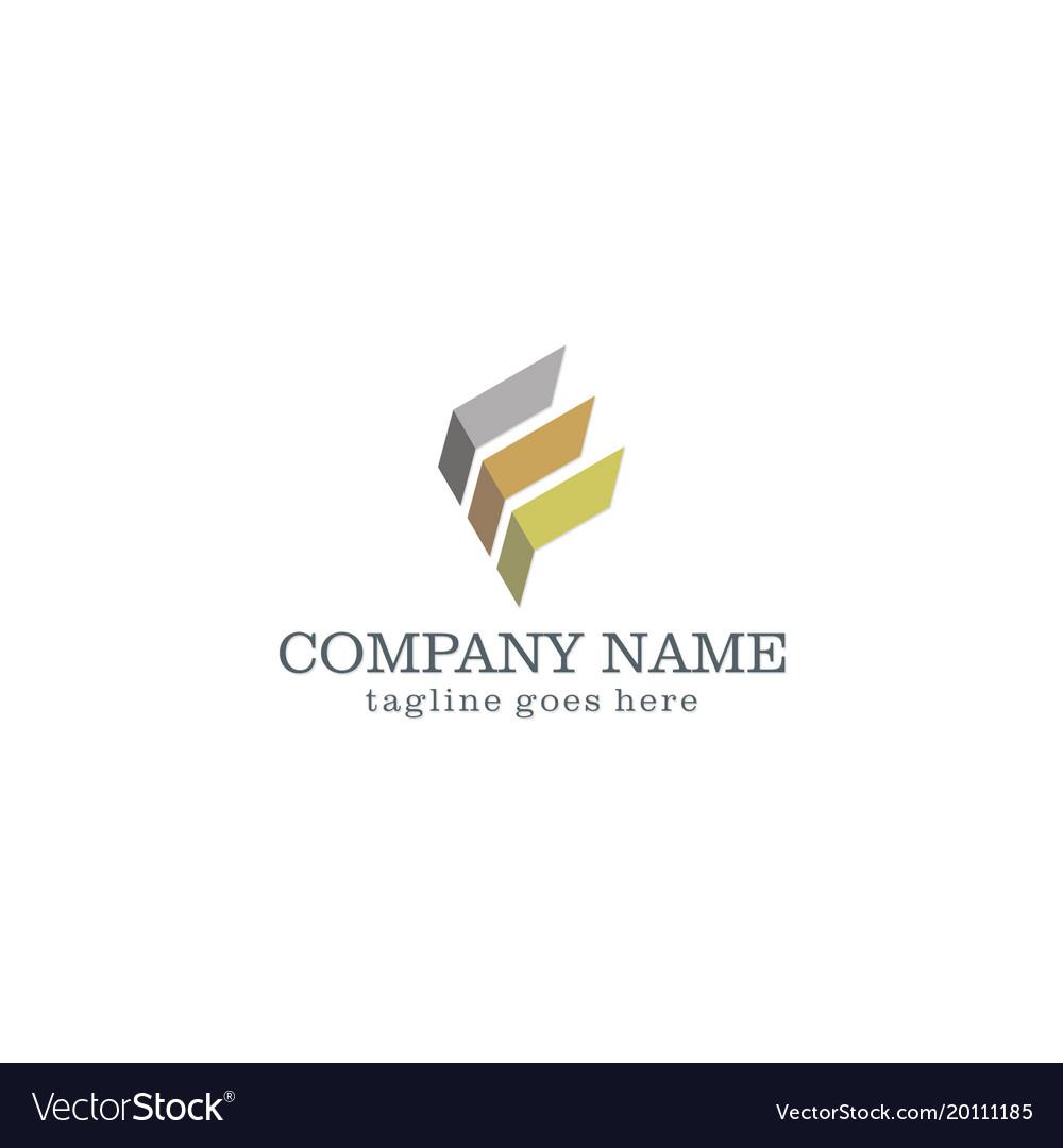 Shape abstract business company logo