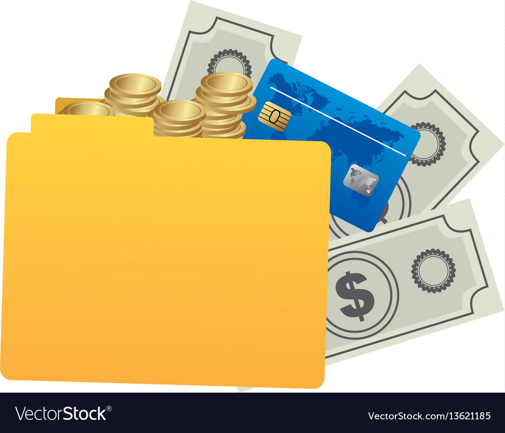 Yellow file with money icon