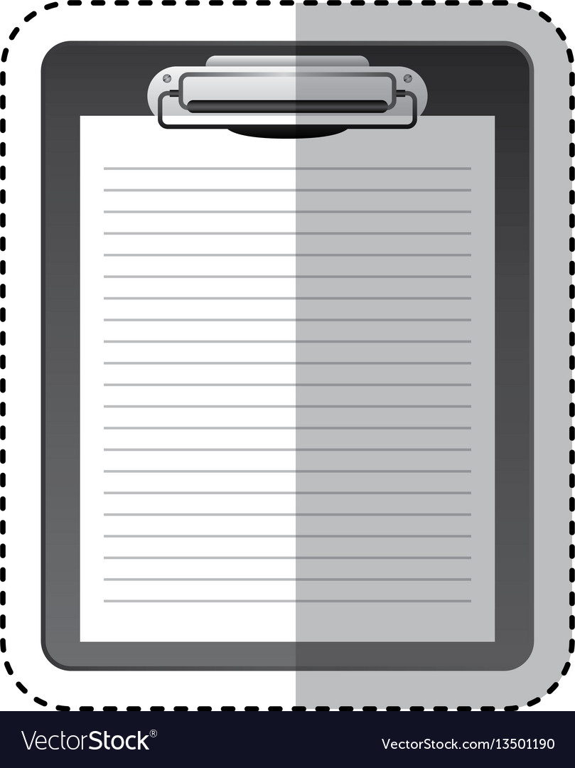 Checklist clipboard isolated icon