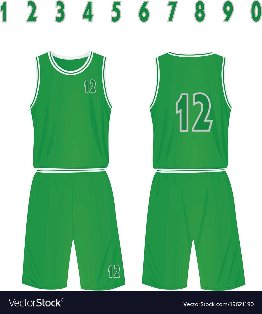 buy popular 11d69 e102e Green basketball uniform