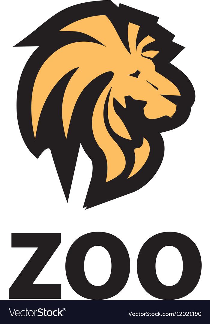 logo zoo royalty free vector image vectorstock